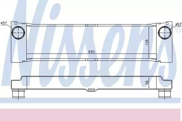 Интеркулер MB: VIANO (W639) 3.0 CDI/CDI 2.0/CDI 2.2 4-MATIC 03-, VITO АВТОБУС (W639) 109 CDI 2.2/111 CDI 2.2/120 CDI 03-, VITO ФУРГОН (W639) 109 CDI/111 CDI 2.2