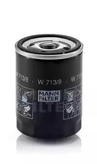 Фильтр масляный, MANN, W7139