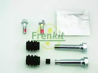 Направляющая суппорта переднего верхняя + нижняя к-кт
