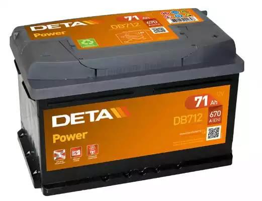 Батарея аккумуляторная, 12В 71А/ч
