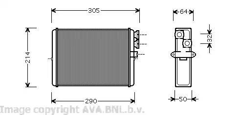 Радиатор отопителя [239x207]