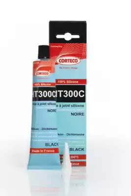 герметик поддона черный термостойкий (-65°C/+300°C) 80 ml