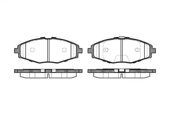 колодки тормозные передние MATIZ/ LANOS/CHERY QQ