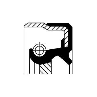 Сальник 40x62x10/12