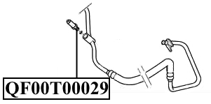 Датчик ГУР (в трубке выс давл) P206/P307/P406/Partner/C4 QUATTRO FRENI