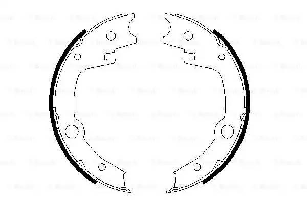 колодки ручника = CHERY FORA/VORTEX ESTINA