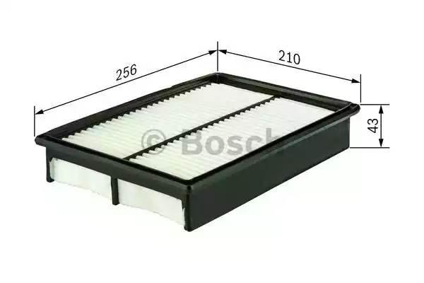 Фильтр воздушный, BOSCH, 1457433037
