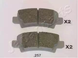 колодки тормозные задние дисковые