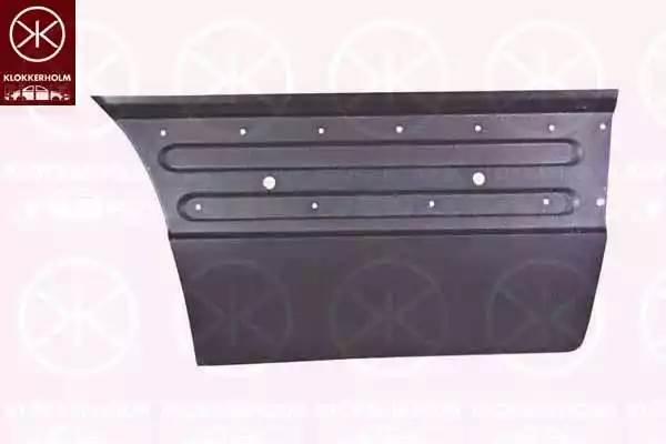 Панель кузова Прав MERCEDES SPRINTER (06/2006-08/2013) нижняя часть двери (внешняя)