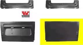 Панель ремонтная ремонтная задн двери 50 cm прав MERCEDES: SPRINTER 95-06+Classic