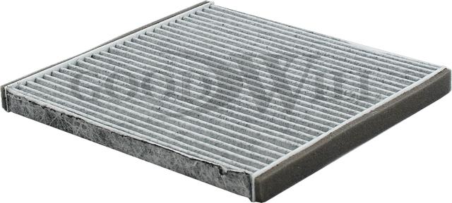 фильтр салона без каркаса угольный