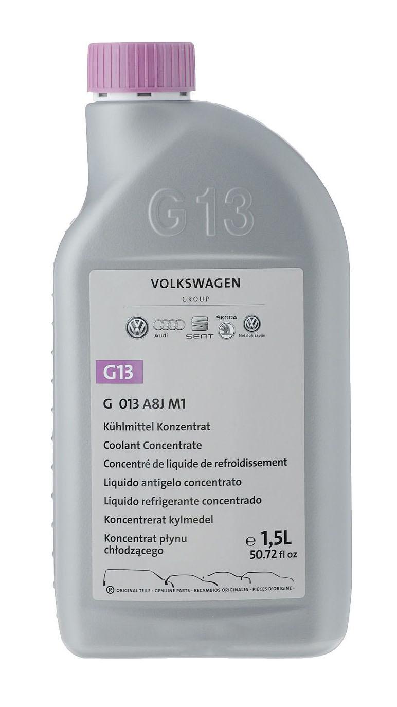 Концентрированный лиловый VW Kuehlerfrostschutz Volkswagen/VW