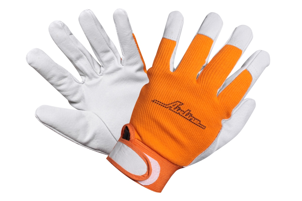 Перчатки козья кожа, комбинированные (AWG-S-14)