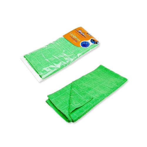 Салфетка из микрофибры зеленая (50*70 см)  (AB-A-07)