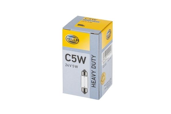 8GM 002 092-241 лампа накаливания (софитная) 5W 24V SV8.5-8 Omn MB, Krone, Neo 8gm002092241