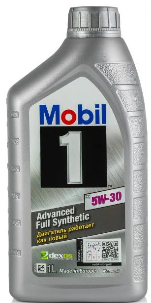 """Масло моторное синтетическое """"Mobil 1 x1 5W-30"""", 1л"""