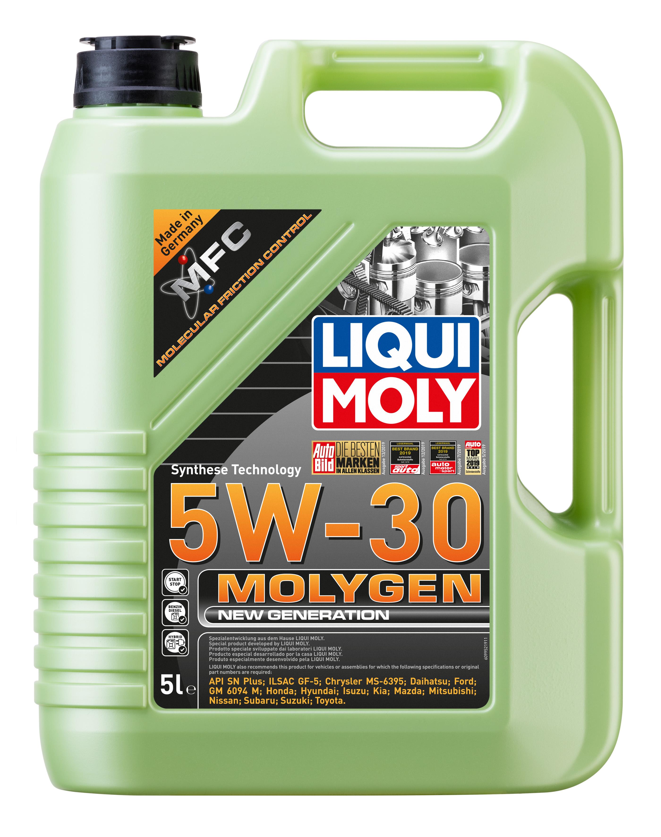 Liqui Moly Molygen New Generation 5W-30