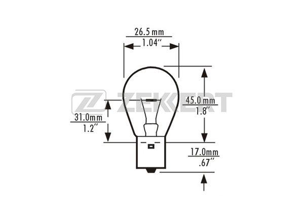 Лампа накаливания, фара дневного освещения