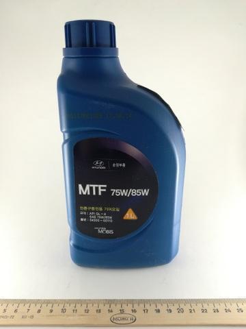 масло трансмиссионное 75W85 GL4  1л