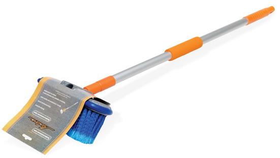 Швабра с щеткой 20 см и телескопической ручкой 80-130см  (AB-H-03)