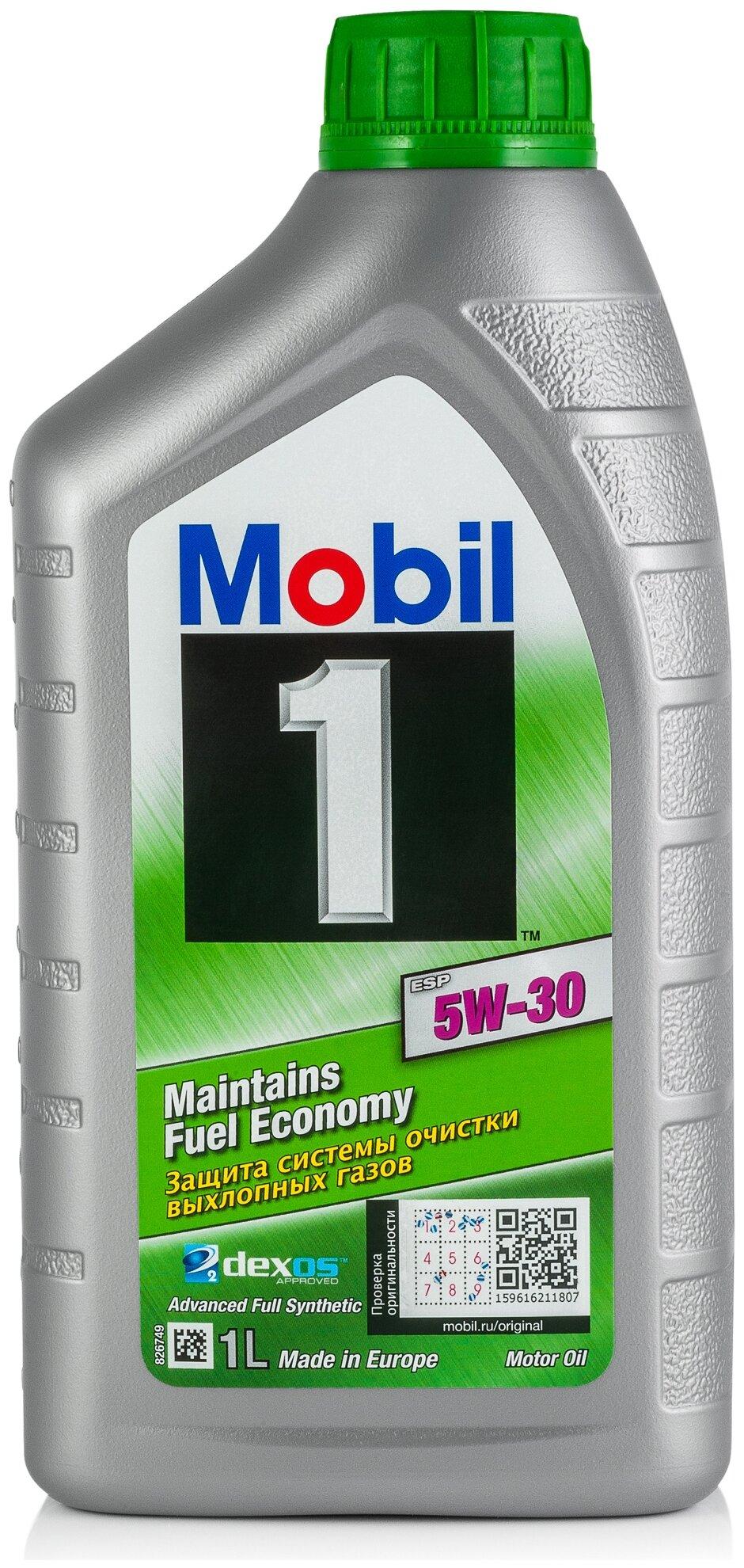 Масло моторное MOBIL M 1 ESP 5W30  1L MB 229.51