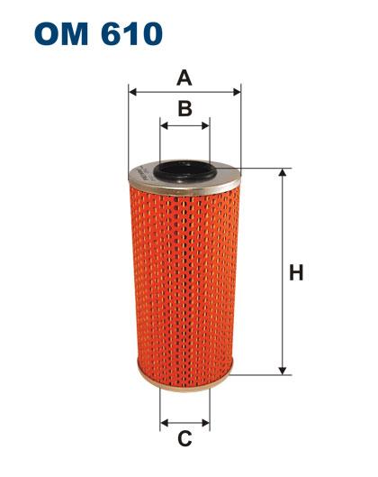 Фильтр маслянный 601-602