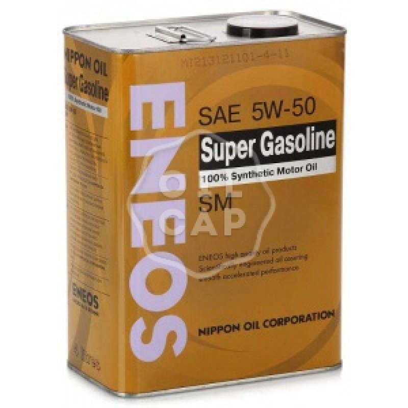"""Масло моторное синтетическое """"Super Gasoline SM 5W-50"""", 4л"""