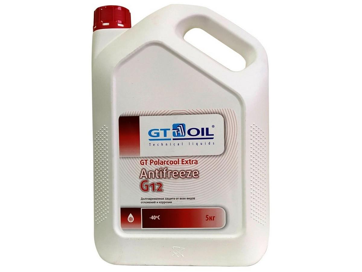 антифриз красный G12 готовый 5л