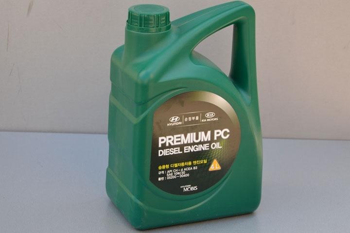 Hyundai premium pc diesel 10w-30 ch-4, 4л