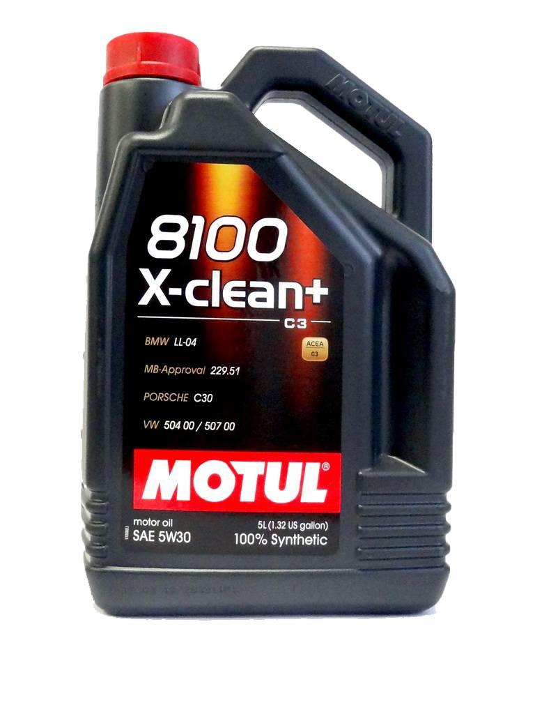 8100 X-CLEAN + Motul 106377