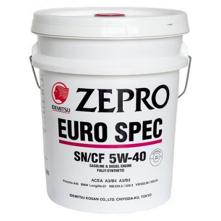Масло моторное синтетическое 'Zepro Euro Spec SN/CF 5W-40', 20л