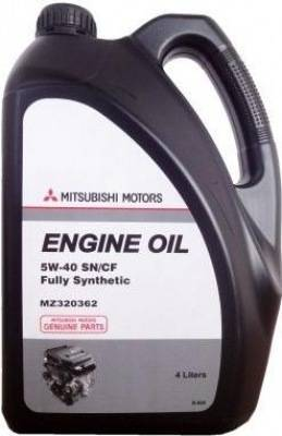 Mitsubishi fully synthetic 5w-40 sn/cf, 4л