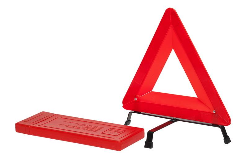 Знак аварийной остановки с широким корпусом (ГОСТ Р) в пласт.кейсе (AT-04)