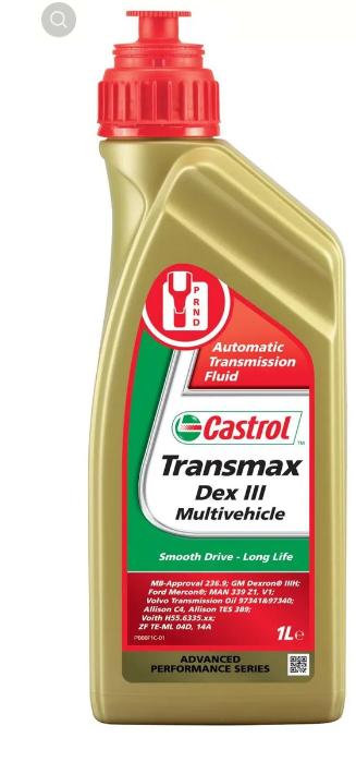 Transmax Dex III Multivehicle Castrol 157AB3