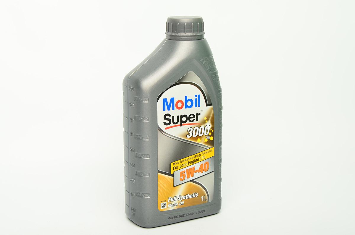 "Масло моторное ""MOBIL Super 3000 X1 5W-40 API SM/SN/CF; ACEA A3/B3/B4"", 1л"