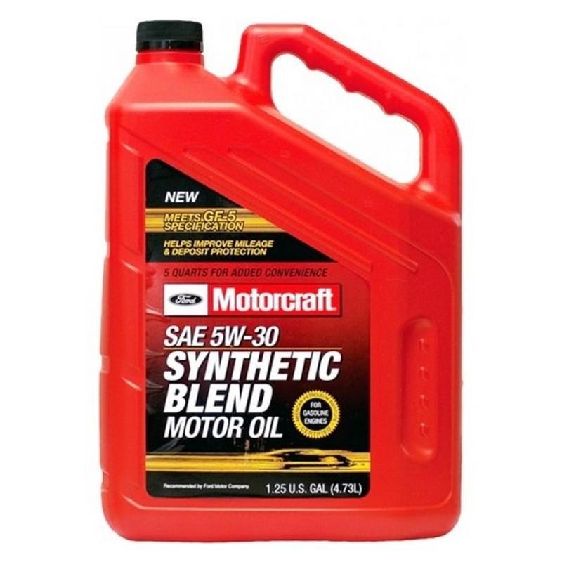 FORD Motorcraft SAE Premium Synthetic Blend Motor Oil (4,73л)