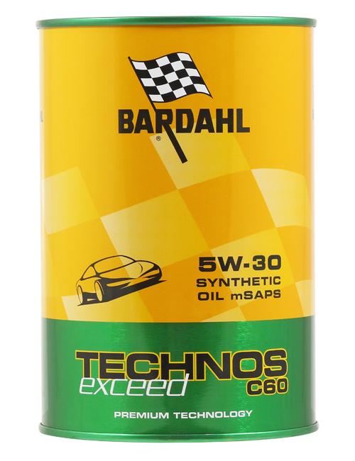 Bardahl TECHNOS LOW-SAPS C60 5W-30