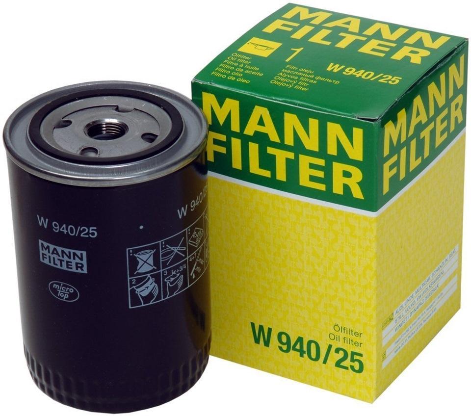 Фильтр масляный, MANN, W94025