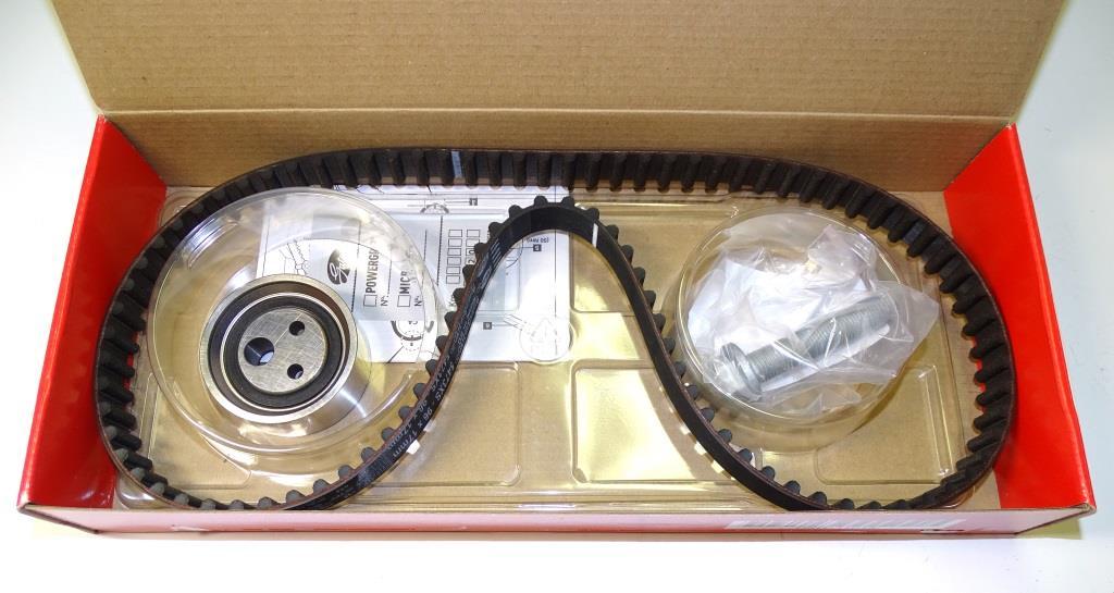 Комплект ГРМ Renault Logan, Sandero 1.4-1.6 8кл. (ремень +ролики) (K015473XS) Gates