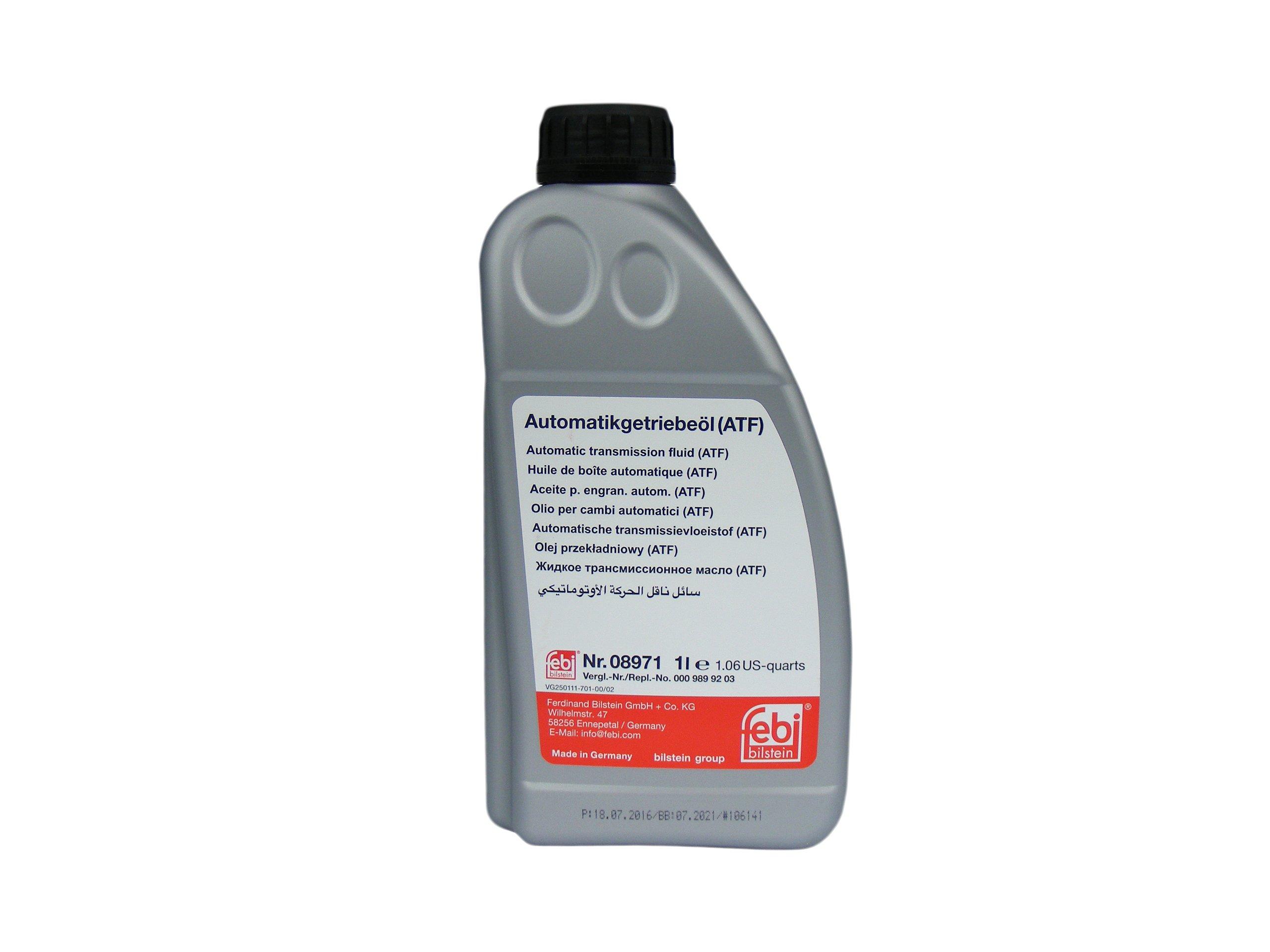 8971F_жидкость гидравлическая! красная 1L для АКПП ATF Dexron IID\ MB, Opel