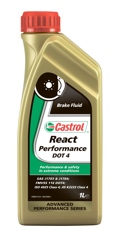 CASTROL React Performance DOT4 1л
