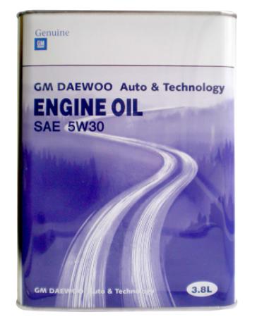 General Motors DAEWOO ENG INE OIL SAE 5W30
