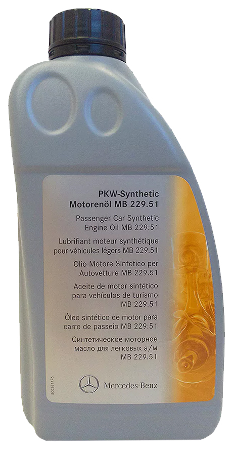 Mercedes PKW Synthetic Motorenol