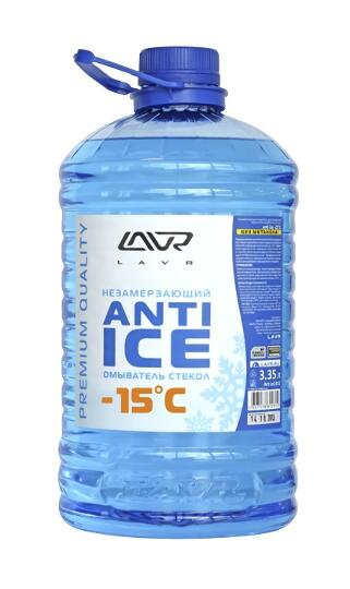 "Жидкость стеклоомывателя, зимняя (-15) ""Anti Ice "",3,35л"
