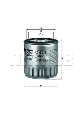 Фильтр топливный 601-602
