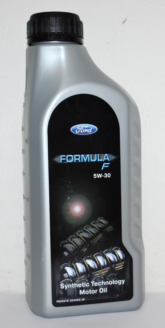 Formula F Fuel Economy HC Ford 155D4B