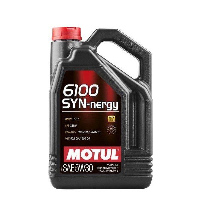 "Масло моторное полусинтетическое ""6100 Synergie+ 5W-30"", 4л"