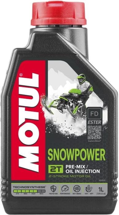 Масло моторное 2T Motul Snowpower