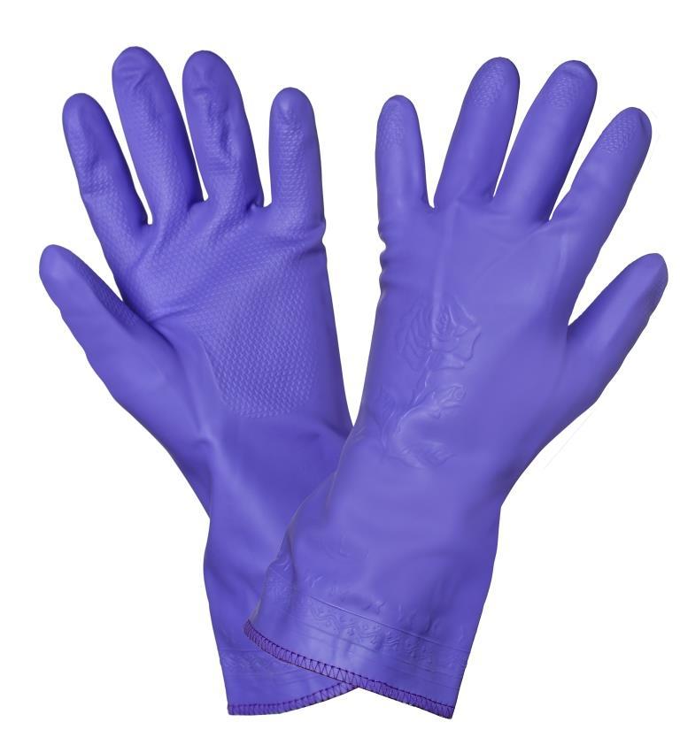 Перчатки ПВХ хозяйственные (AWG-HW-11)