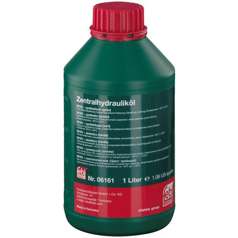 06161F_жидкость гидравлическая! 1л зеленая синт.\ CHF11-S